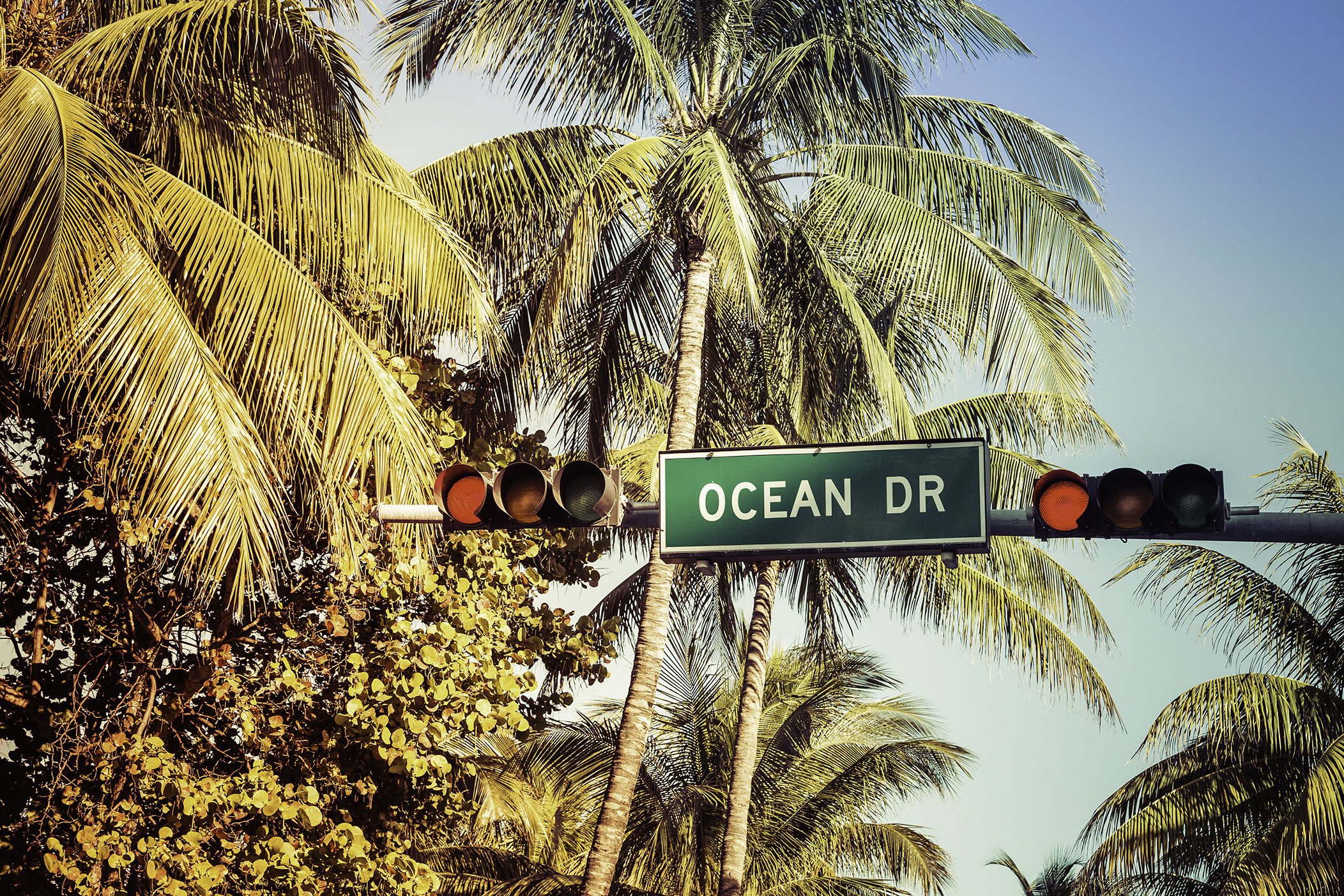 Ocean Drive in Miami Beach